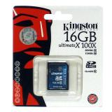 KINGSTON SDHC 16 GB ultimateX 100X class 10