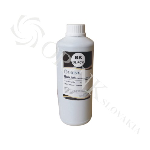 Universal ink dye BLACK ORINK 1000 ml