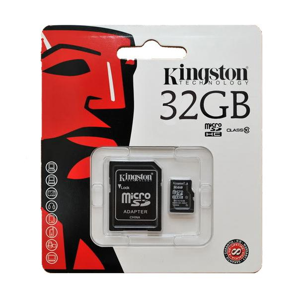 KINGSTON Micro SDHC 32 GB class 10
